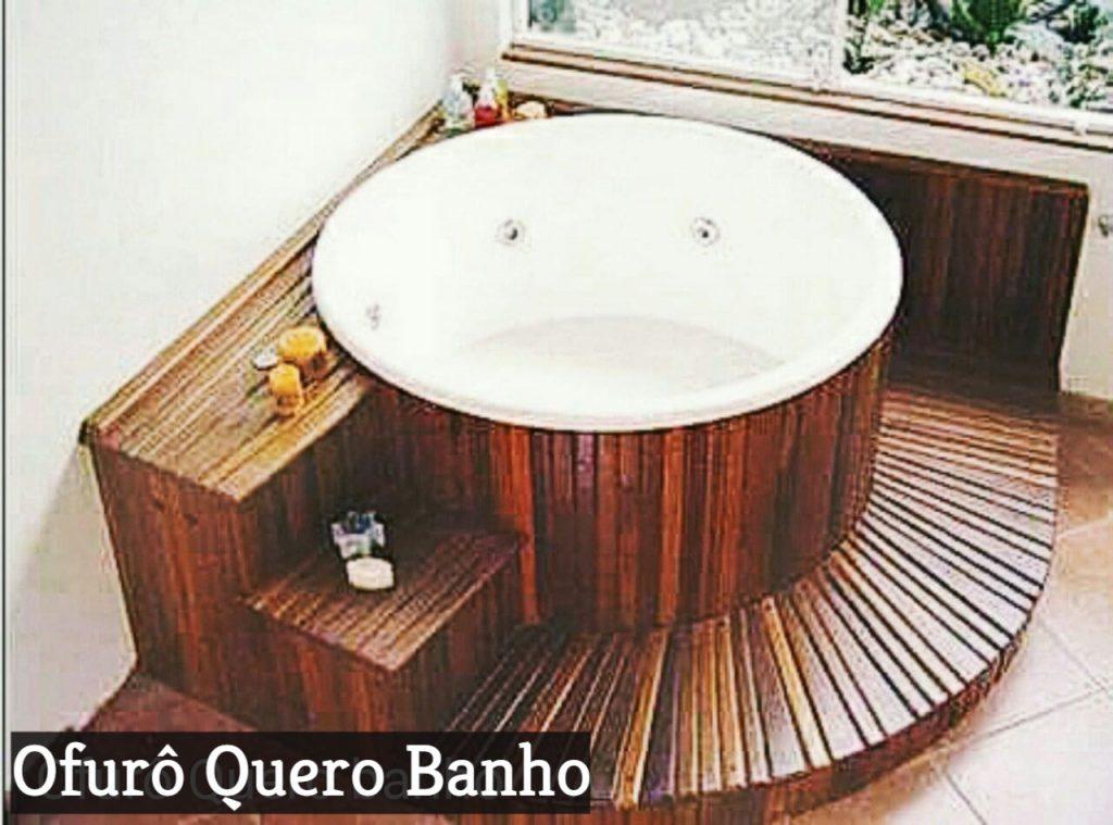 Ofurô Redondo com Deck